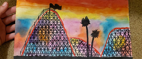 giant dipper painting